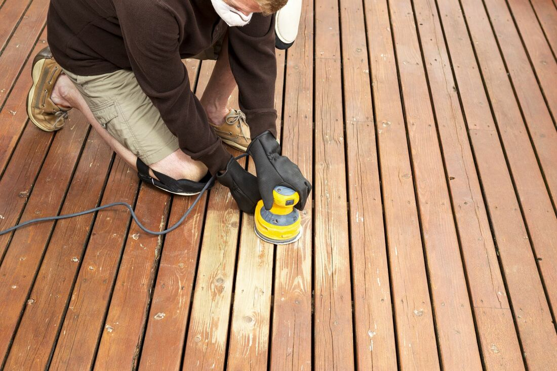 deck inspection & repairs services.